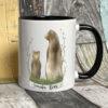 Black mug - Grandpa bear design