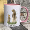 Pink mug - Grandpa bear design